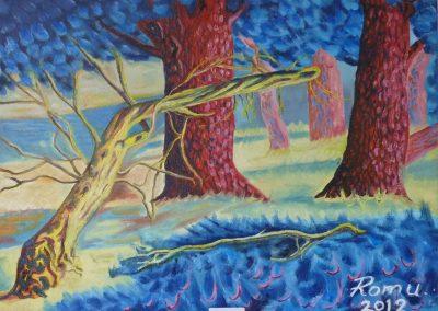 pinar castellano pintura fauvista