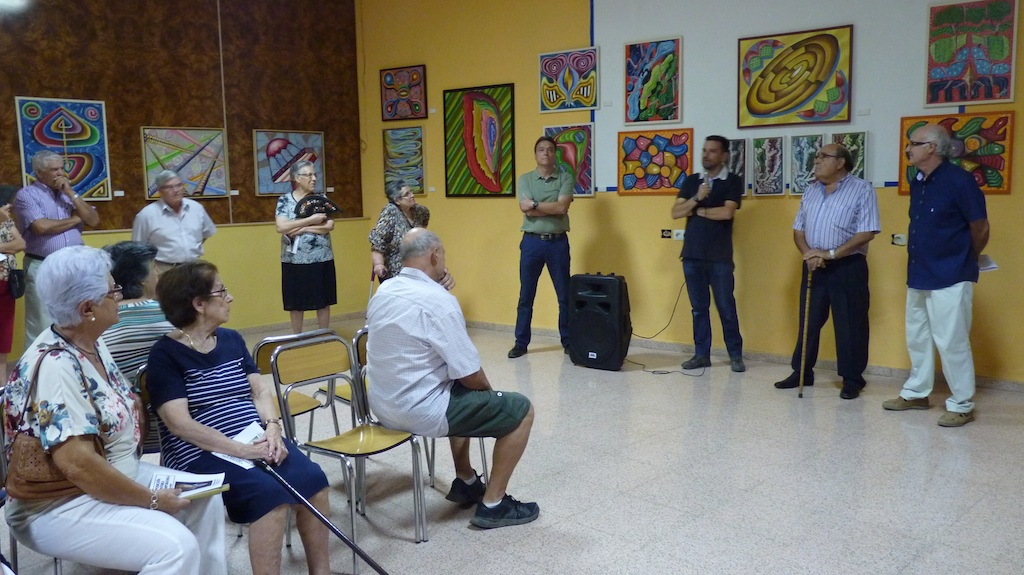 Exposición en Valverde de Júcar en 2015